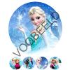 Eetbare Taart Print Frozen Elsa - 20 cm