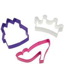 Cookie Cutter Set Princess - Wilton