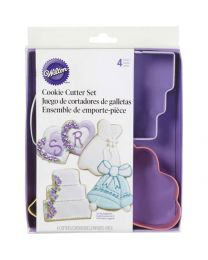 Wilton Wedding  Cutter Set - 4 dlg