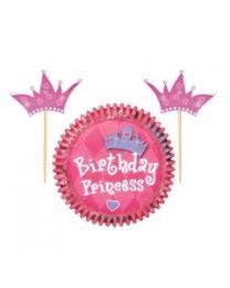 Cupcake Combo Pack Prinsess - Wilton