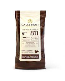 Callebaut Chocolade Puur (54,5%) 1 kilo drip.