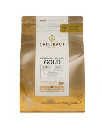 Callebaut Gold - Chocolade Callets - 500g drip