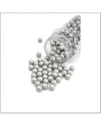 Candy Beads Pearl Silver