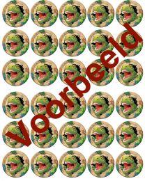 Cupcake Plaatjes - Dino - 30