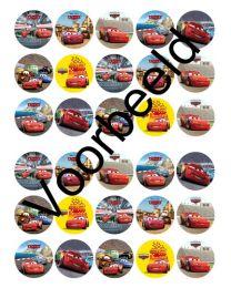 Cupcake Rondjes cars - 30