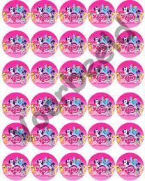 Cupcake Rondjes - 30
