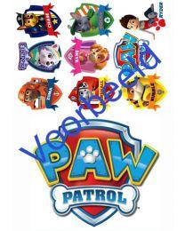 Eetbare Taart Print - Logo + CC