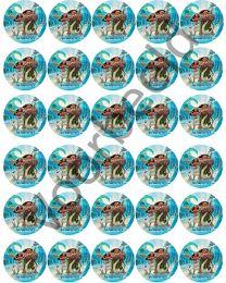 Cupcake Rondjes - 30 - 1