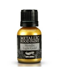 RD Pot Metallic Food Paint Light Gold