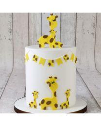 FMM Mummy - Baby Giraf Cutter Set - 2 dlg
