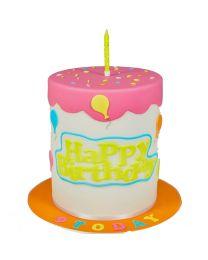 FMM Curved Word Cutter Set - Happy Birthday
