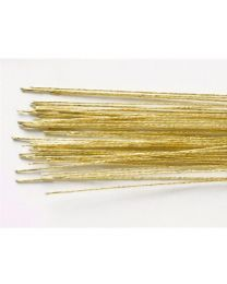 Culpitt Floral Wire Metallic Gold - 50 st