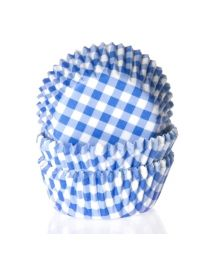 House of Marie Baking cups Ruit Blauw - pk/50