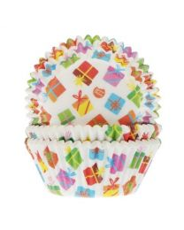 House of Marie Baking Cups Cadeaus pk/50