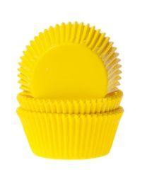 HoM Baking Cups Geel - 50