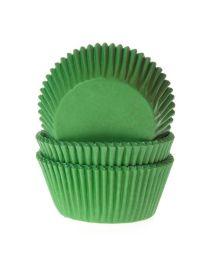 HoM Baking Cups Gras Groen - 50
