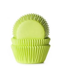 HoM Baking Cups Lime - 50