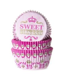 HoM Baking Cups Sweet 16 - 50