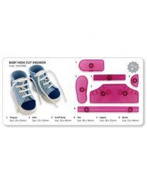 JEM High Cut Sneaker sport schoen- 6 dlg
