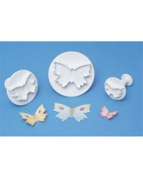 PME Butterfly-Vlinder  Plunger Cutter Set - 3 dlg