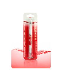 Rainbow Dust Food Pen Red
