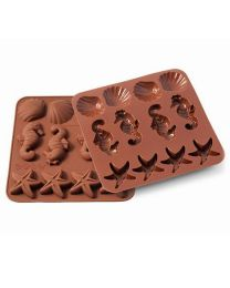 Silikomart Wonder Cakes Silicone Mould -Sealife-