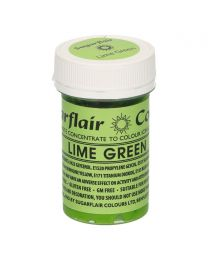 Sugarflair Paste Colour Lime Green 25g