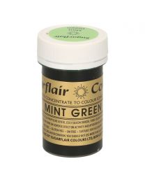 Sugarflair Paste Colour Mint Green 25g