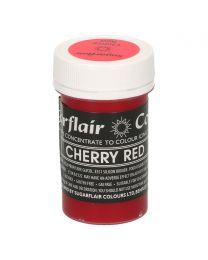 Sugarflair Paste Colour Pastel CHERRY RED 25g