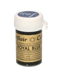 Sugarflair Paste Colour Royal Blue 25g