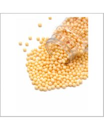 Sugar Pearls Yellow - 4 mm