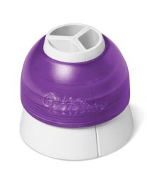 ColorSwirl Tri-Color Large Coupler - Wilton