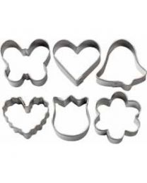 Wilton Mini Metal Romantic cutter set
