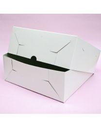 !!Voordeel!! 10 x Taart doos wit 29cm x 29cm x 10 cm