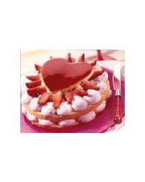 Zeelandia Bavaroise Aardbeien 100 gram