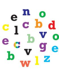 FMM Alfabet Tappits, kleine letters recht
