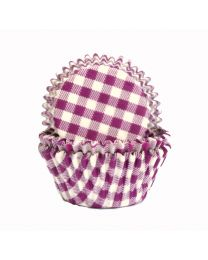 CK Baking Cups Paarse Ruit