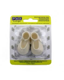 PME Edible Cake Topper Medium Baby Bootee -Pearl-