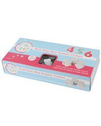 Cake Star Push Easy Cutters Mini Numbers Set/10