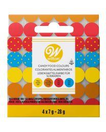 Wilton Chocolade Kleurstof Set/4 (olie basis)