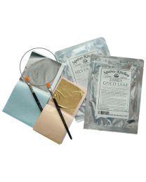 SK Designer Zilver/Silver Leaf (bladsilver)- 5 sheets