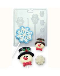 Candy & Chocolate Mold Winter Snow - PME