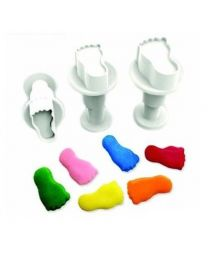 Dekofee Mini Plungers Feet set/3