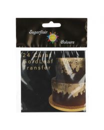 Sugarflair 24 Carat Gold Leaf Transfer (blad goud)