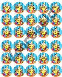 Eetbare Cupcake Print Bumba - 30