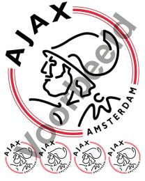 Eetbare Taart Print Ajax 20 cm - 1