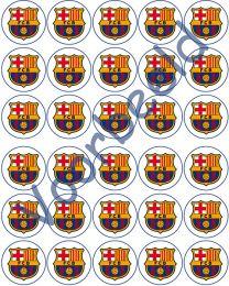Eetbare Cupcake Print FC Barcelona - 30 -