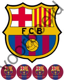 Eetbare Taart Print FC Barcelona - 20 cm -