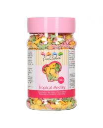 Tropical Sprinkle Medley Flamingo - 180g - Funcakes