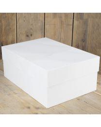 FunCakes Taartdoos -Blanco 40 x 30 x 15 - pk/1